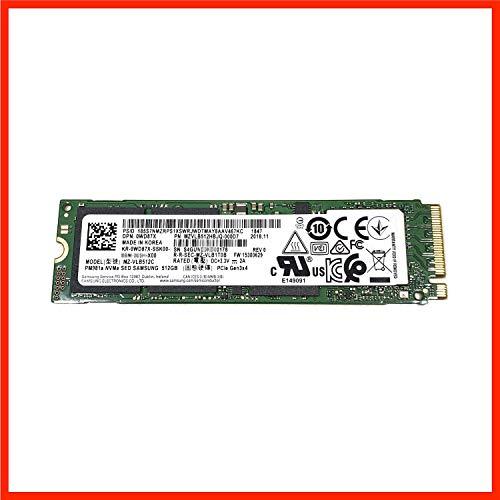 MZVLB512HBJQ-000D7 Samsung 512GB PM981a SED Verschlüsselung M2 M.2 2280 PCIe SSD (neu mit Garantie), MZ-VLB512C 0WD87X WD87X, PM981 Phoenix Controller, kompatibel mit Dell, HP, Acer, Asus, Lenovo