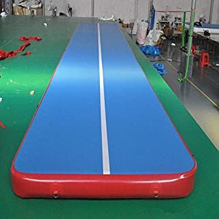 Yotek - Inflatable Bouncers - New (6m7m8m)*1m*0.2m Inflatable Gymnastics Airtrack Tumbling Air Track Floor Trampoline For ...
