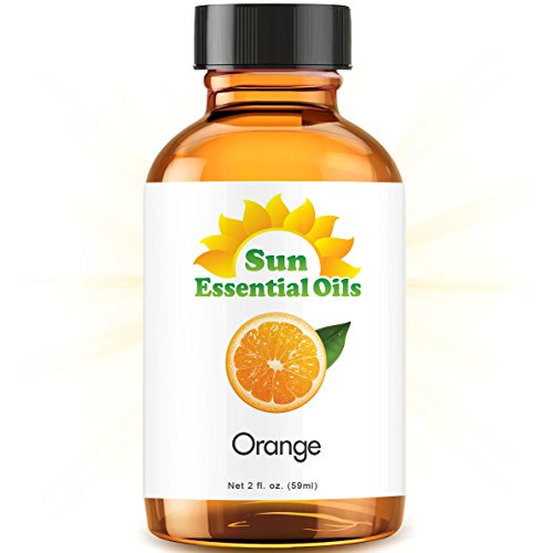 Sweet Orange Essential Oil (Huge 2oz Bottle) Bulk Sweet Orange Oil - 2 Ounce