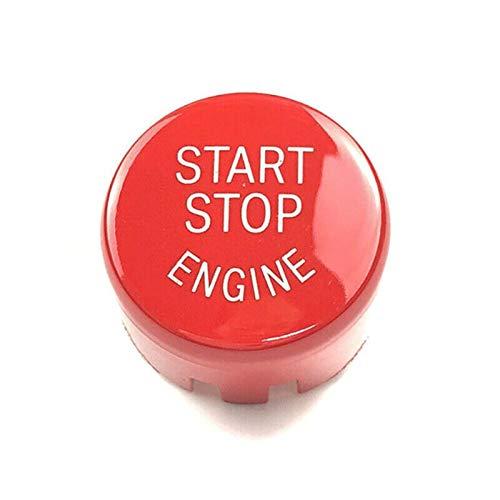 LICHONGUI Cubierta del Interruptor del botón del Motor de Parada del Motor para F20 F30 F10 F01 F25 Durante DURANDO DURANDO Durante Detener Detener Detener Cubierta DE BOTÓN