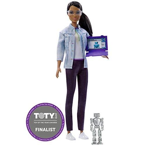 Barbie Latina Ingegnere Robotico, 16 cm, FRM11