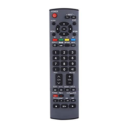 Eulbevoli Control Remoto De TV, Control Remoto De Rendimiento Estable Compatible con N2QAYB000238 Compatible con N2QAYB000239