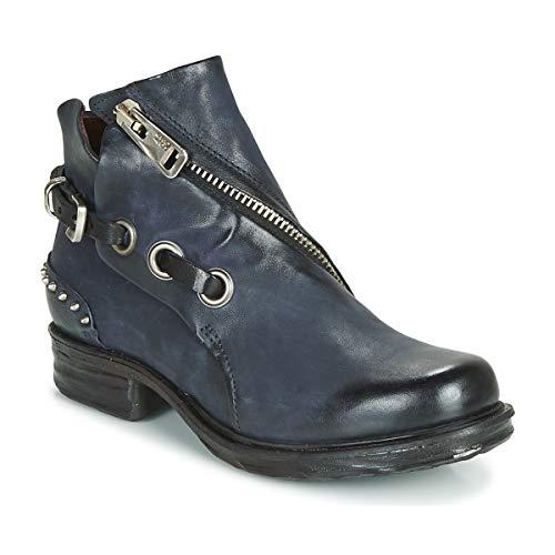 airstep / a.s.98 Saint Ec Clou Stiefelletten/Boots Damen Marine - 36 - Boots Shoes