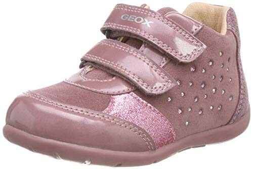 Geox Baby Mädchen B Kaytan A Sneaker, Pink (Dk Pink C8006), 22 EU