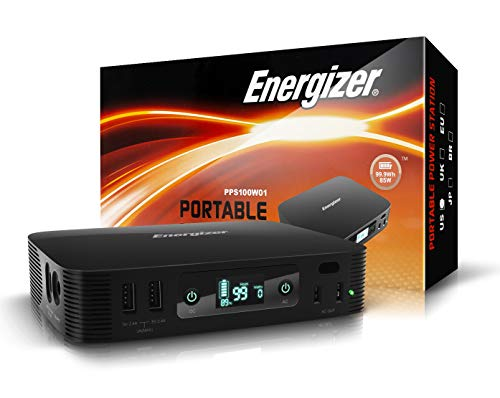 Portable Charger for Phone/Laptop/Switch 26900mAh/100Wh with LED Indicator - Multiple Charging Ports - High Speed Power Station by Energizer