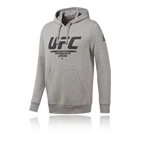 Reebok Herren UFC Fg Pullover Hoodie Sweatshirt, BRGRIN, S