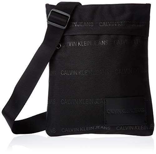 Calvin Klein Sp Essential Flatpack - Borse a spalla Uomo, Nero...