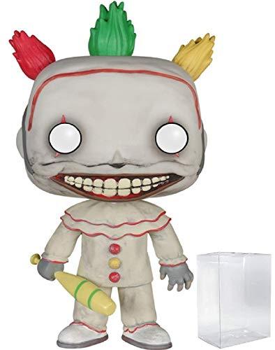 Funko Pop! TV: American Horror Story Season 4 - Twisty The Clown Vinyl Figure (Bundled with Pop Box Protector CASE)