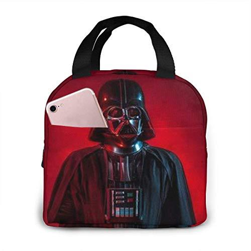 Bolsa de almuerzo de Star-Wars reutilizable para adultos unisex, bolsa de almuerzo portátil con aislamiento para niños y niñas, cajas Bento para el trabajo, la escuela, los viajes