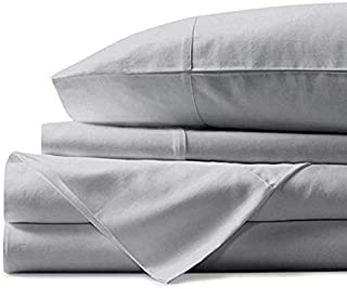 PLATINUM HOME PRODUCTS 800 Thread Count Sheet Set, 4 Piece Set, Cotton, Cotton Weave Bedsheet, Breathable, Fits up to 14 inches deep mattresses