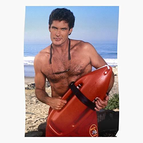 Anderson Man Hot Pamela Swimsuit 90S Baywatch Beach Red Home Decor Wall Art Print Poster !