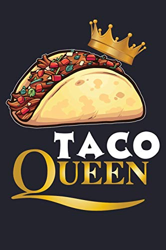 Taco Queen: Mexican Food Lined Journal