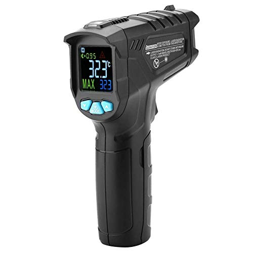 ZGYQGOO MESTEK IR01A / IR01B / IR01C Pantalla LCD Termómetro infrarrojo Digital...