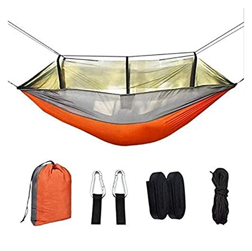 Beapet Hamaca, 260 * 140 cm Hamaca portátil 1-2 Persona 210T NISI Spinning al Aire Libre Camping Hamaca Anti-Mosquito Camping Malla Hamaca Camping Hamaca