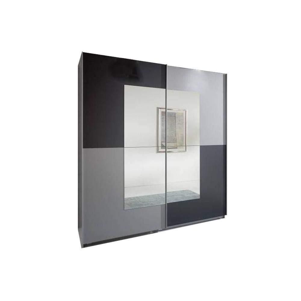 Inside Dressing de Puertas correderas Jagger 180 cm, Colores Antracita/ Aluminio: Amazon.es: Hogar