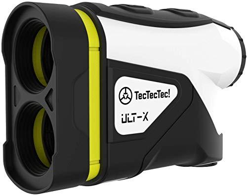 TecTecTec Laser Golf Entfernungsmesser ULT-X | 915 m | Pin-Seeker-Technologie | Winkelkompensierung