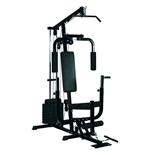 HOMCOM Multi Gym Workstation Home Workout Station Toning Body Building Strength Training...