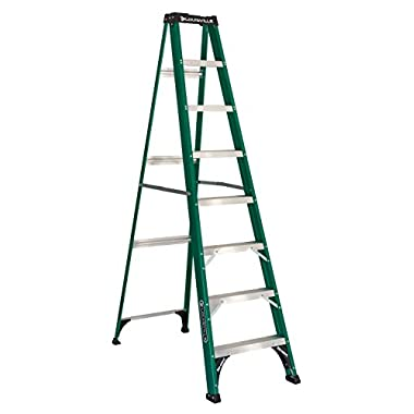 Louisville Ladder FS4008, Fiberglass Step Ladder, 225-Pound Capacity, 8-Foot
