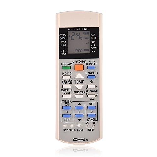 ASHATA Mando a Distancia de Repuesto para Aire Acondicionado,Control Remoto para Panasonic Air Conditioner A75c3300 A75c3208 A75c3706 A75c3708