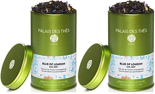 Palais des Thés Blue of London Earl Grey Tea, 3.5oz Metal Tin