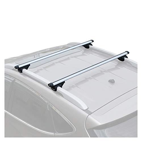 Roof Rack 2PCS 120CM Or 135CM Original Roof Rack SUV Roof Rack Crossbars Car Travel Rack Luggage Rack 1 (Color : 2PCS 1.35M Black)