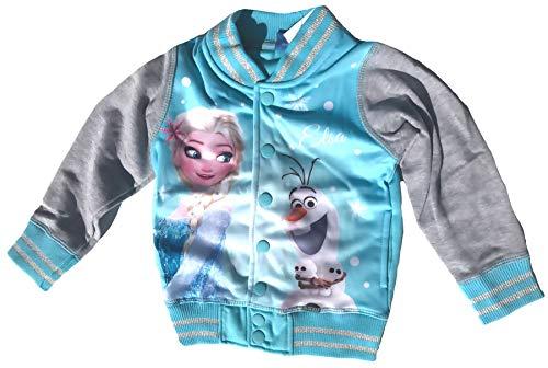 De ijskoningin jas voor meisjes collegejas Frozen volledig onbevroren maat 104 110 116 122 128