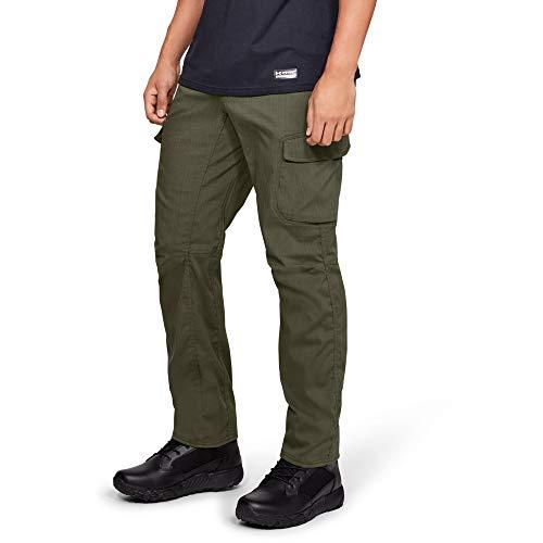 Under Armour Tactical Enduro Cargo-Hose für Herren, Herren, Hosen, Men's Enduro Cargo Pants, Marine Od Green (390)/Marine Od Green, 38/32