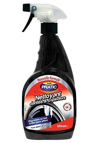 AUTO PRATIC AutoPratic - Limpiador de Llantas y tapacubos, para Todo Tipo de Llantas, 500 ml (Lote de 3)