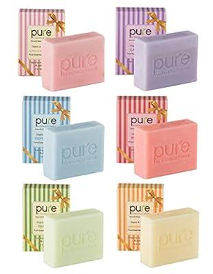 Natural Handmade Essential Oil Soap Bars with Shea Butter, Coconut Oil & Jojoba Oil - Face & Body Soap Bar Gift Set for Women & Men!