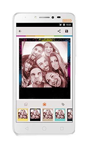 Alcatel 5023F-2AALWE2 13,97 cm (5,5 Zoll) Pixi 4 Plus, Smartphone, 16GB Volcano Schwarz