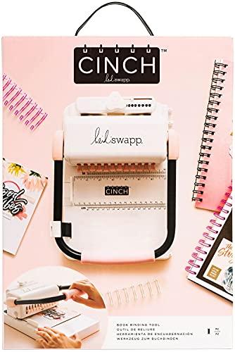 Encadernadora The Cinch We R - Furo Quadrado American Craft, 662789, Branco e Preto, 1 Pc