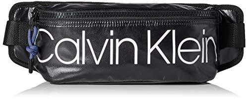 Calvin Klein - Trail+ Waistbag, Organizadores de bolso Hombre, Negro (Black), 1x1x1 cm (W x H L)