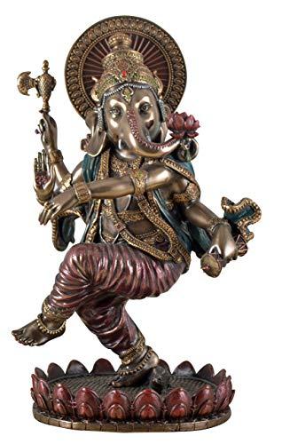 Veronese Figura Elefante Indio Dios Ganesha Baila