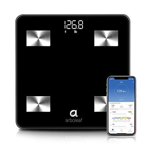 Arboleaf Weight Scale - Smart Scale Bluetooth Body Fat Scale Wireless...