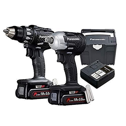 Panasonic EYC 230 PN2G Twin-Kit: 18V Drill+Screwdriver