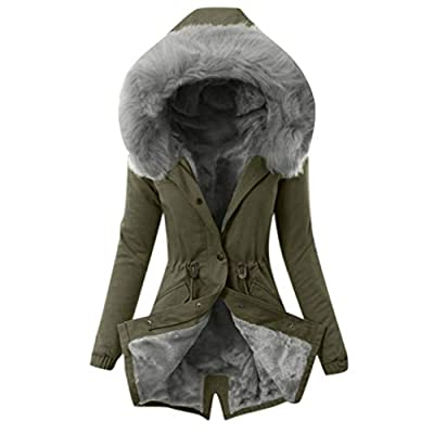 Oldlover-Women Hooded Warm Winter