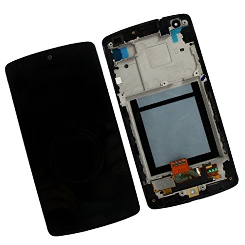 LG D821 / D820 Nexus 5 LCD Touchscreen-Digitizer, Frontblende, LCD-Display, LG-Teilenummer: ACQ86661402