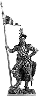 17th century metal sculpture Scottish warrior with a Lochaber axe Collection 54mm Tin toy soldiers Gifts /& Souvenirs #149 scale 1//32 miniature figurine