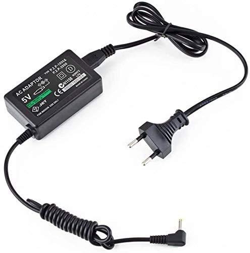 Todobarato24h Cargador Compatible con PSP daptador de CA de 5V EU Inicio Cargador de Pared para Sony PSP 1000 2000 3000