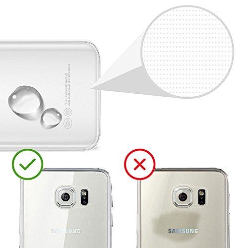 Eximmobile Silikon Case + Panzerfolie für Huawei Ascend Y530 Handyhülle mit 9H Echt Glasfolie Schutzhülle mit Schutzfolie Handytasche Silikonhülle Tasche Hülle Displayschutzfolie Displayschutz - 4