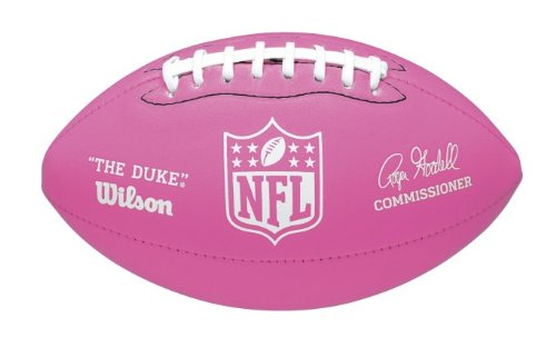 Wilson Mini Soft Touch Nfl Football (Pink)