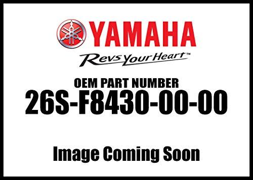 Yamaha 26S-F8430-00-00 Saddlebag Complete 1 - Left; 26SF84300000 Made by Yamaha