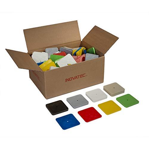 80 x Kunststoff Unterlegplatten 70 x 70 x 2-15mm Abstandhalter Distanzklotz Plättchen