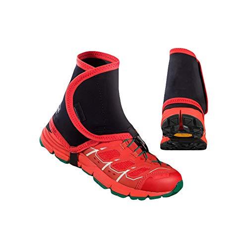 Yalatan Unisex Outdoor Trail High reflektierende Gamaschen, Sandproof Protector Schuh Kupfer für Laufen Jogging Marathon Wanderschuhe