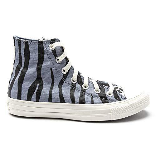 Converse Chuck Taylor All Star Hi Mujer Zapatillas Azul 38.5 EU