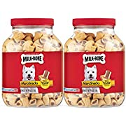 Milk-Bone MaroSnacks Dog Treats for Dogs of All Sizes, 40 Ounces (Pack of 2)