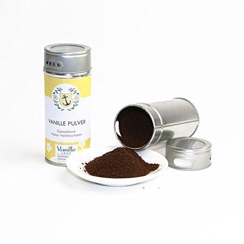Natur Vanillepulver 40g / gemahlene Vanille Schoten / vom Vanille Shop / ideal zum Backen und würzen