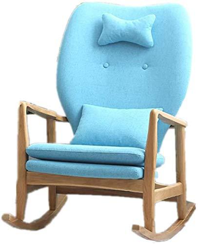 REWD – Mecedora para adultos, para balcón, sofá individual extraíble y lavable, fácil de montar