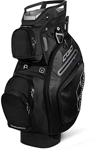 Sun Mountain Golf 2019 C-130 Cart Bag CACTUS-BLACK-INFERNO (Cactus-Black-Inferno)