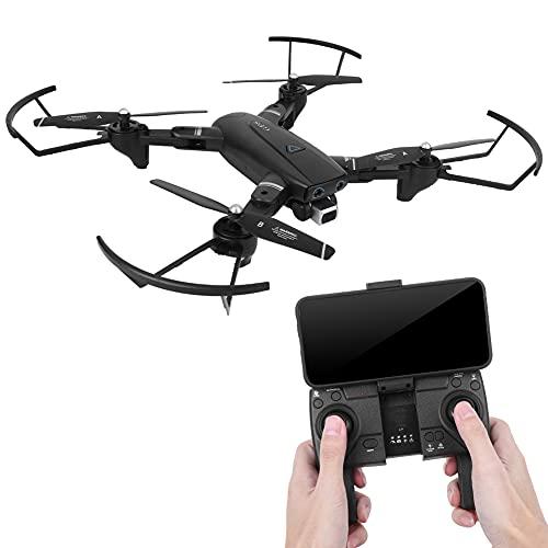 Fotocamera Drone, Mini Drone Grandangolare 1080P Hd Con Fotocamera Drone Rc Con Volo Assistito Elicottero Rc Per Adulti Droni Per Adulti 4K Professionale(2.4G 720P)